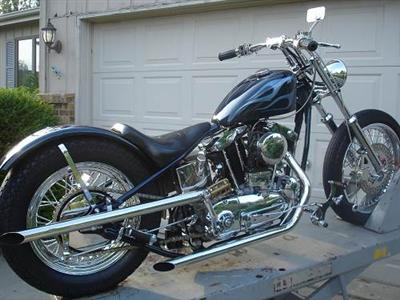 Photo of a 1966 Harley-Davidson&reg; XLCH Sportster&reg; Super CH
