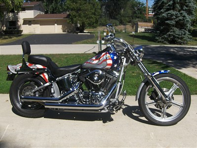 Photo of a 2002 Thunder Mountain  Gunnison Softail (FXST)