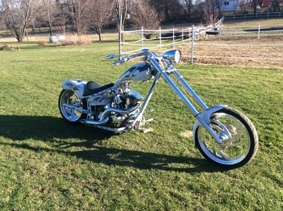 Used 2003 IronWorks Rage Softail