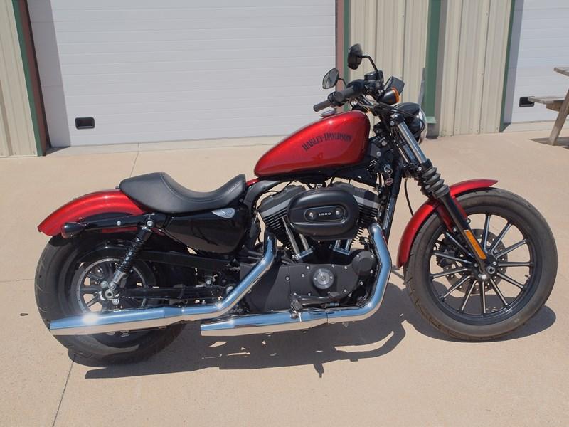 2012 harley davidson xl883n sportster iron 883 red sidney nebraska 474237. Black Bedroom Furniture Sets. Home Design Ideas