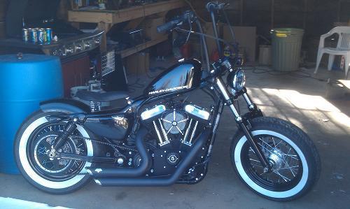Harley Sportster 48 Ape Hangers