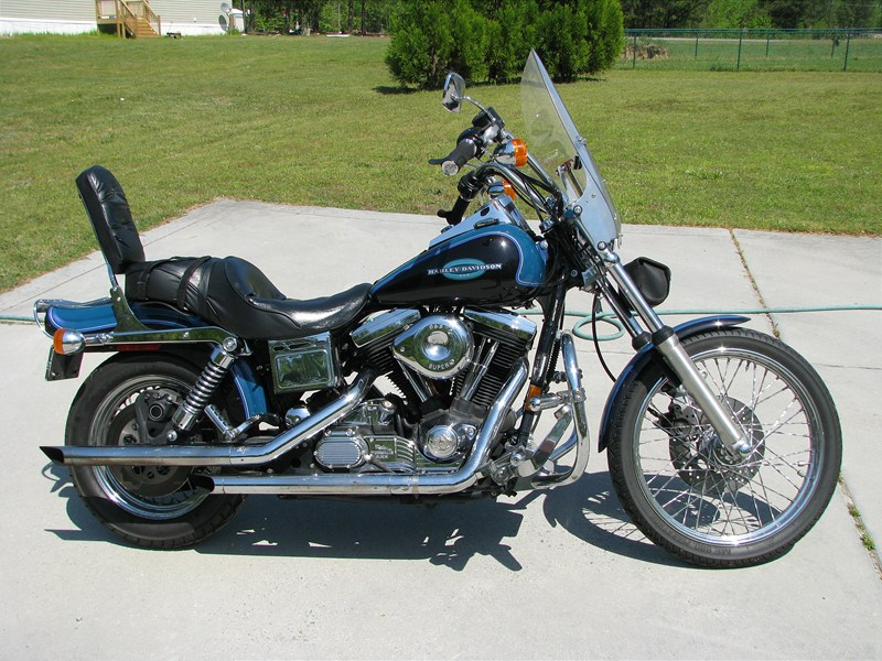 1996 harley davidson fxdwg dyna wide glide black. Black Bedroom Furniture Sets. Home Design Ideas