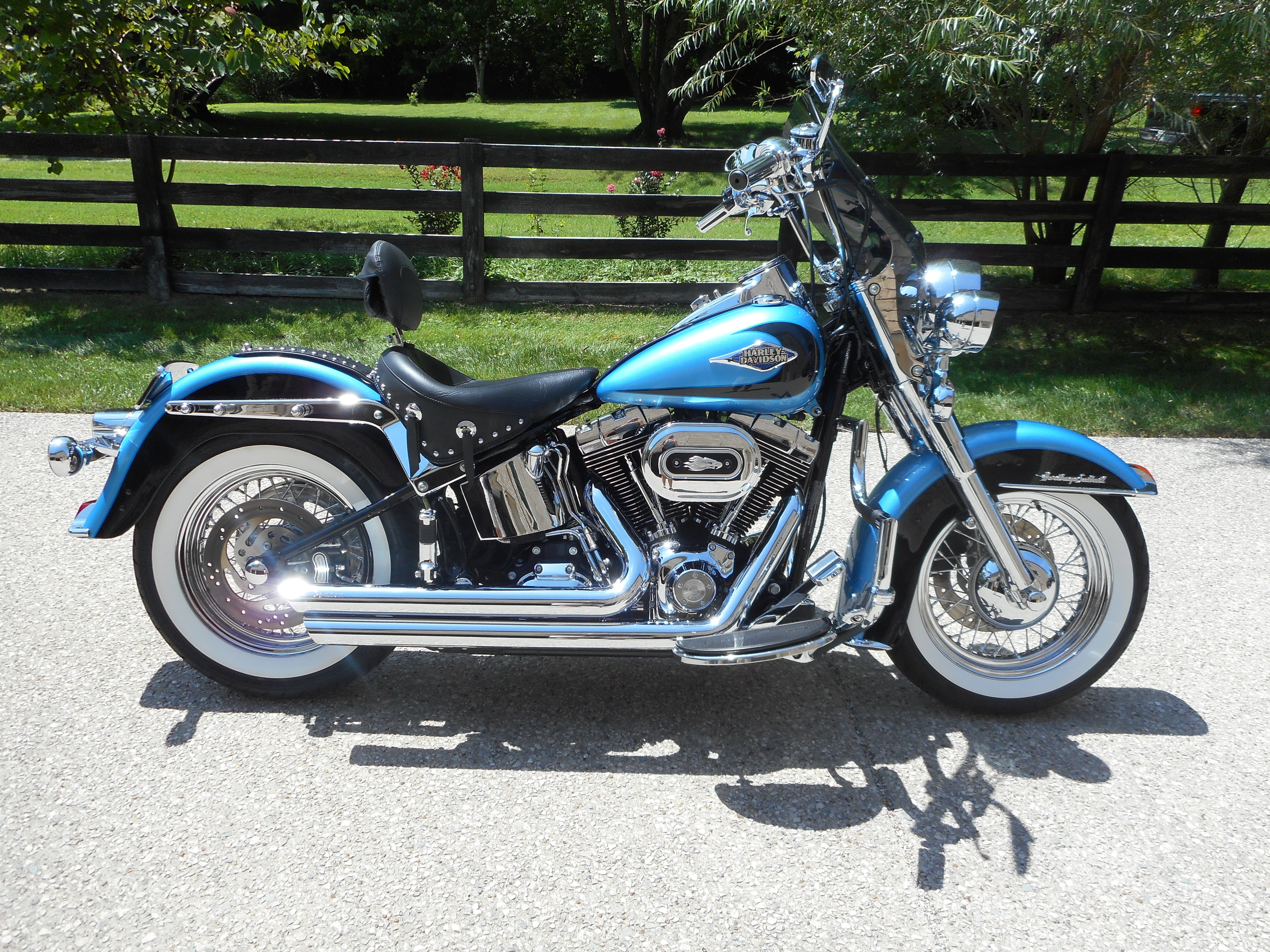 Harley Davidson Heritage Softail Classic Battery