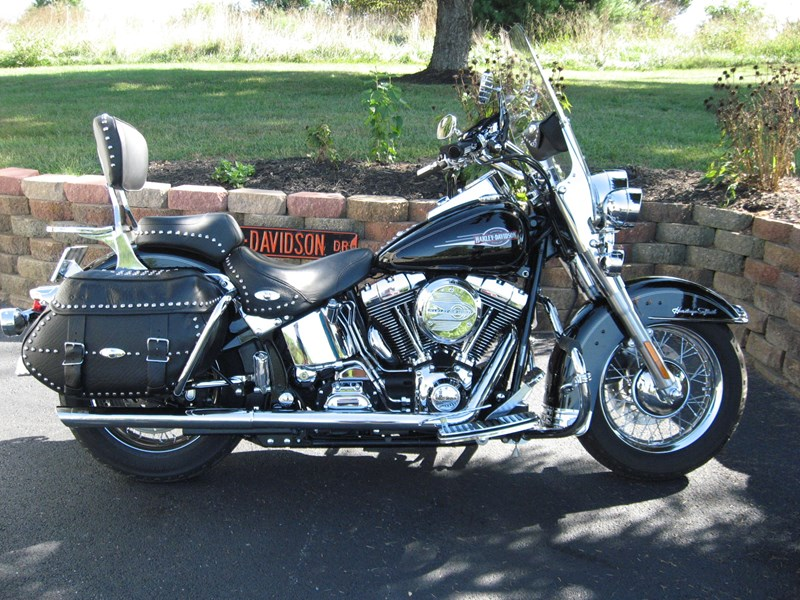 2006 harley davidson flstc i heritage softail classic. Black Bedroom Furniture Sets. Home Design Ideas