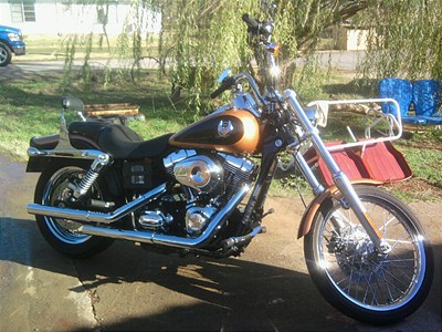 Photo of a 2008 Harley-Davidson® FXDWG-ANV Dyna® Wide Glide® Anniversary