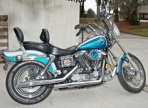 Used Tires Savannah Ga >> 1994 Harley-Davidson® FXDWG Dyna® Wide Glide (Teal/Silver), Savannah, Georgia (327751 ...