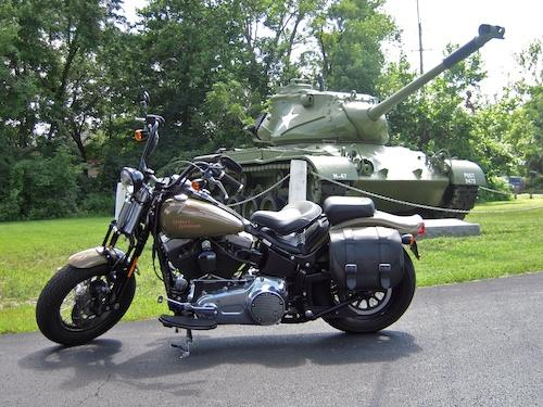 Photo of a 2008 Harley-Davidson® FLSTSB Softail® Cross Bones™