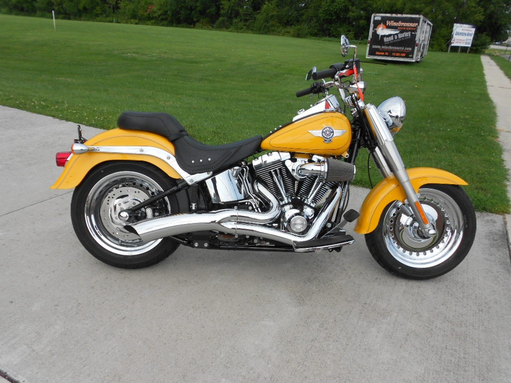2011 Harley-Davidson® FLSTF Softail® Fat Boy®