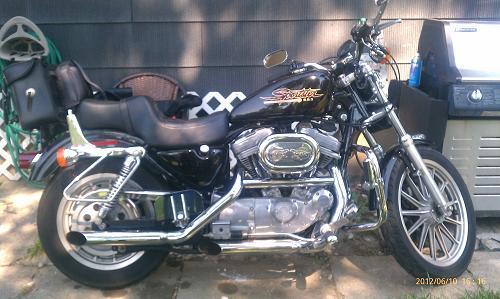 Used Tires Flint Mi >> 1998 Harley-Davidson® XLH-883 Sportster® 883 (Black ...