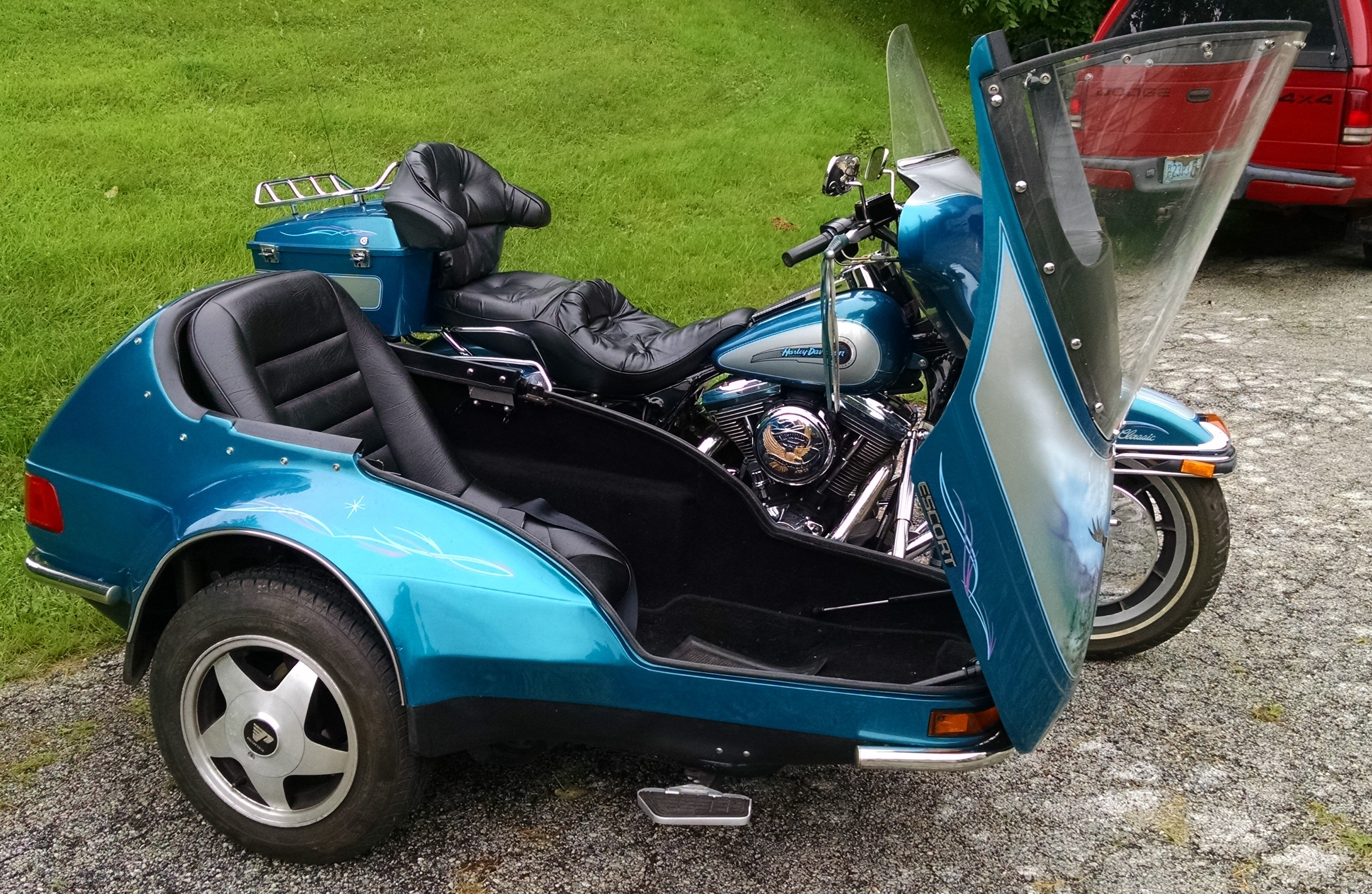 1994 Harley Davidson 174 Flhtc Electra Glide 174 Classic Teal