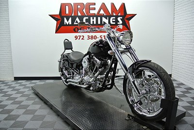 Used 2010 Bourget Bike Works Kruzer Bagger 330