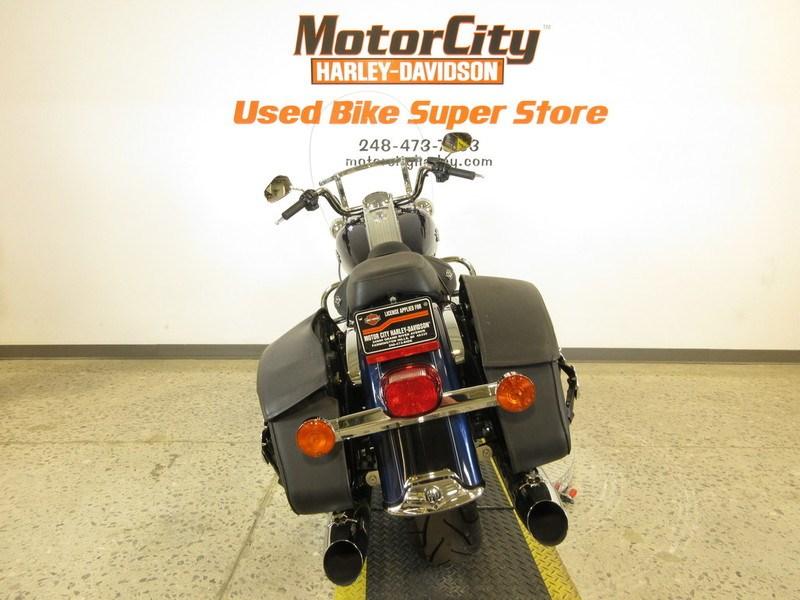 2012 Harley Davidson Flhrc Road King Classic Big Blue
