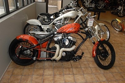 Used 2010 Spencer Bowman Customs Rock Bottom Chopper