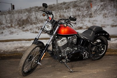 New 2011 Harley-Davidson® Softail® Blackline™